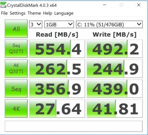 Crystal DiskMark 4.03