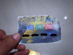 Paspor BCA Lama