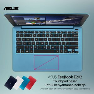 keyboard chicklet dan touchpad besar